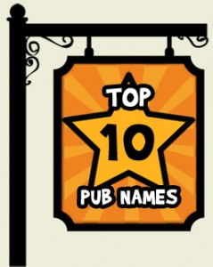 BITE Top Ten Pub Names