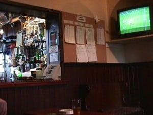 TV down the pub