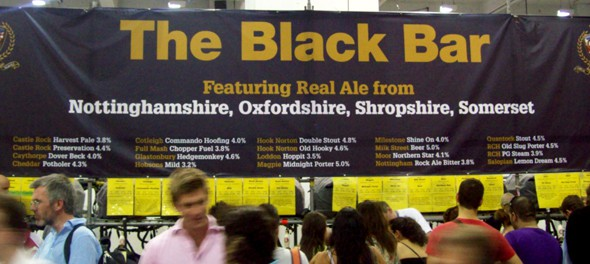 2011 Great British Beer Festival - Black Bar
