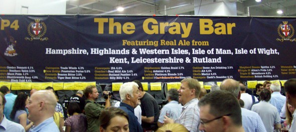2011 Great British Beer Festival - Gray Bar