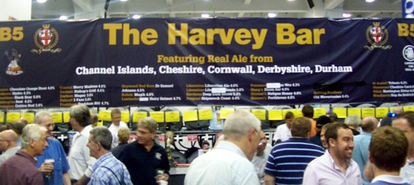 2011 Great British Beer Festival - Harvey Bar
