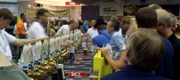 2011 Great British Beer Festival - Hastings Bar