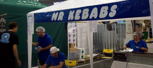 2011 Great British Beer Festival - Mr Kebabs
