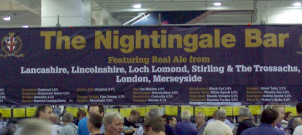 2011 Great British Beer Festival - Nightingale Bar